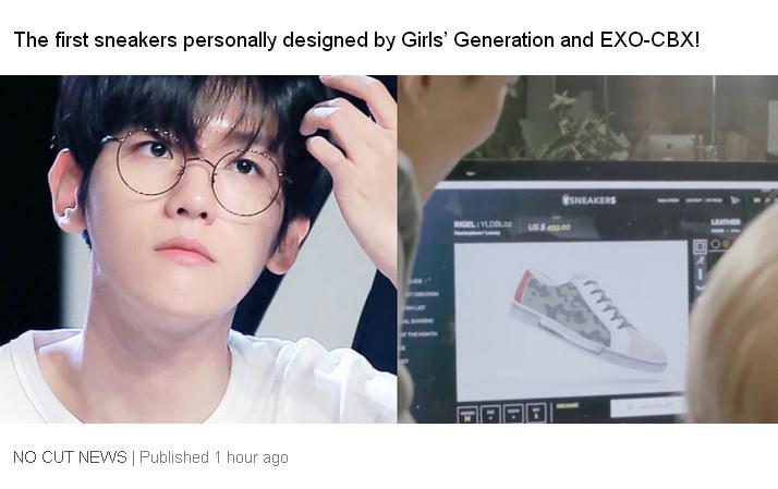 SNSD dan EXO CBX Siap Berkolaborasi Untuk Membuat Desain Sepatu Edisi Terbatas