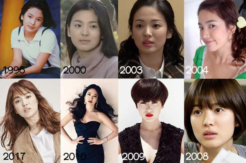 Transformasi Penampilan Song Hye Kyo
