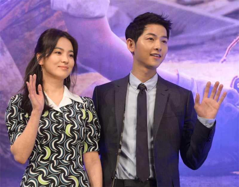 Song Joong Ki Ambil Cuti Singkat Usai Umumkan Perceraian dengan Song Hye Kyo