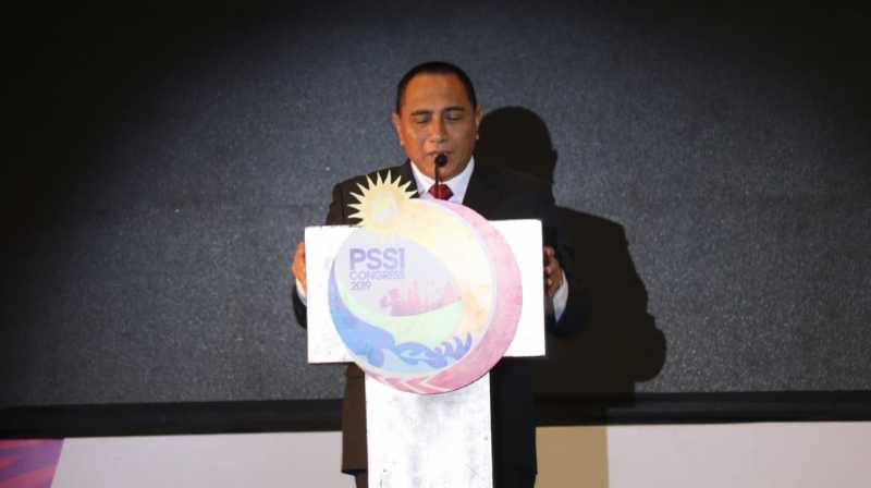 Edy Rahmayadi Mundur sebagai Ketum PSSI