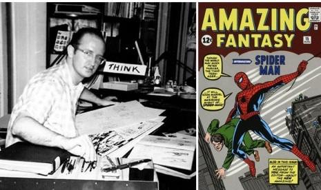 Komikus Legendaris Marvel Steve Ditko Tutup Usia