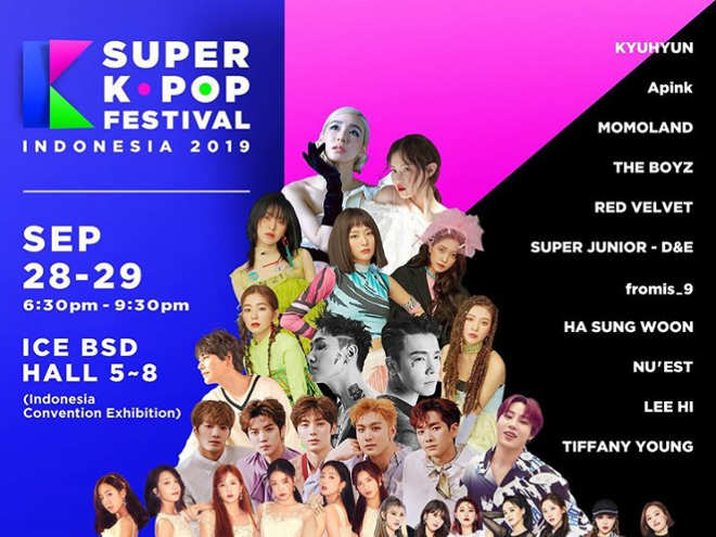 Lee Hi dan Tiffany Young Tamu Special Di Super K-pop Festival Indonesia 2019