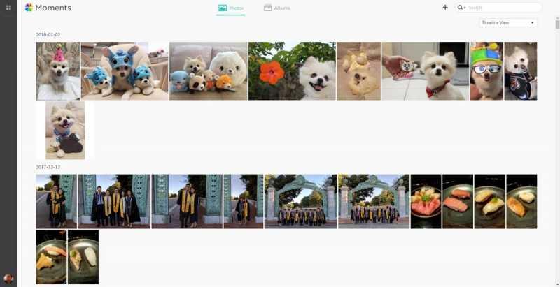 Synology Moments, Buat Album Foto Otomatis Menggunakan AI