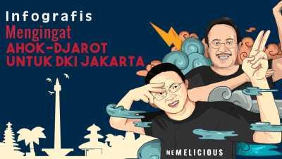 Mengingat Warisan Ahok-Djarot untuk DKI Jakarta