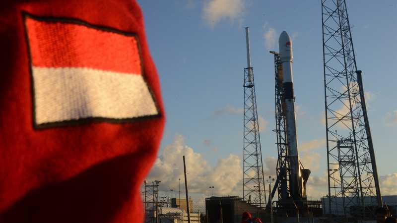 Satelit Merah Putih Telkom Resmi Meluncur