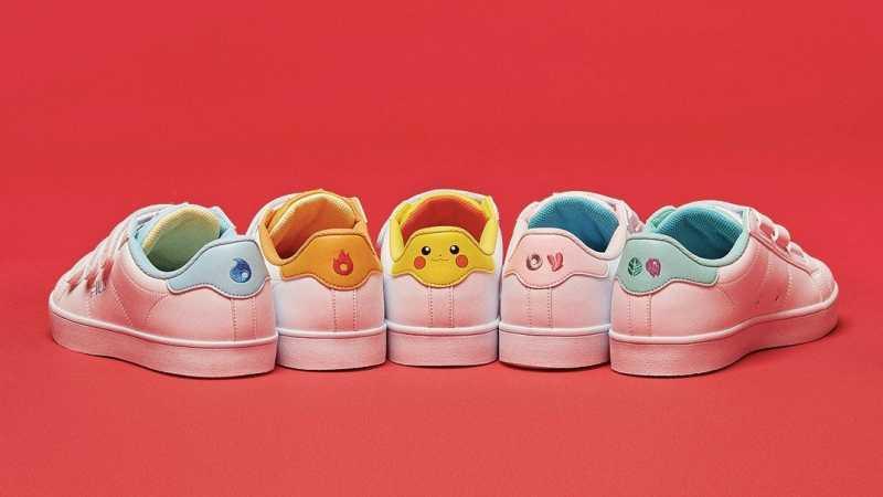 FILA Kembali Rilis 5 Sneaker Bertema Pokemon