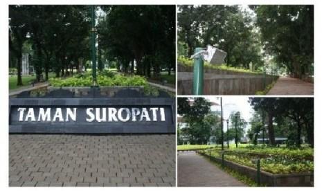 Taman Suropati Jadi Alternatif Bermusik di Kota Jakarta
