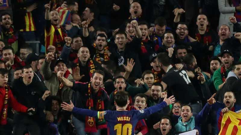100 Gol Lionel Messi di Liga Champions dan para Korbannya