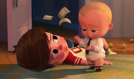 Trolls dan The Boss Baby Dibuat Serial