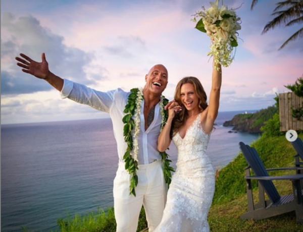Setelah 12 Tahun Tinggal Bersama, The Rock Akhirnya Menikah