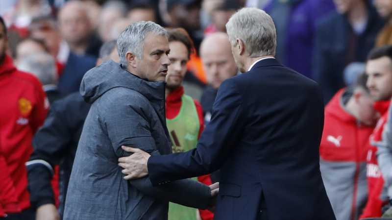 Penyesalan Jose Mourinho Soal Perselisihannya dengan Arsene Wenger