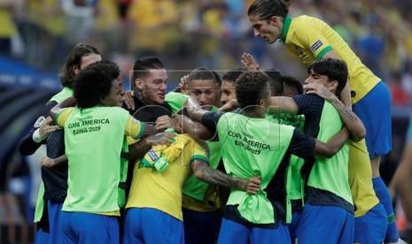 Brasil Diunggulkan Lolos ke Semifinal Copa America