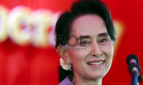 Aung San Suu Kyi Buka Suara Soal Pembantaian Rohingya