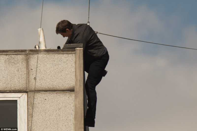 Tom Cruise Patah Tulang Saat Syuting Mission Impossible 6