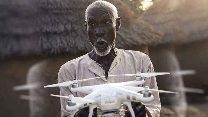 Pria Ini Naik Haji Berkat Drone