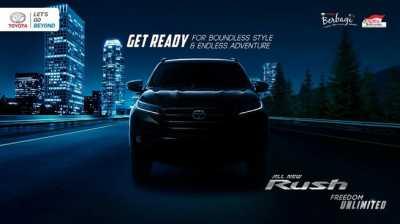 Menanti Peluncuran Toyota Rush Terbaru