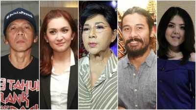 Pesan 5 Selebriti untuk Anies Baswedan dan Sandiaga Uno