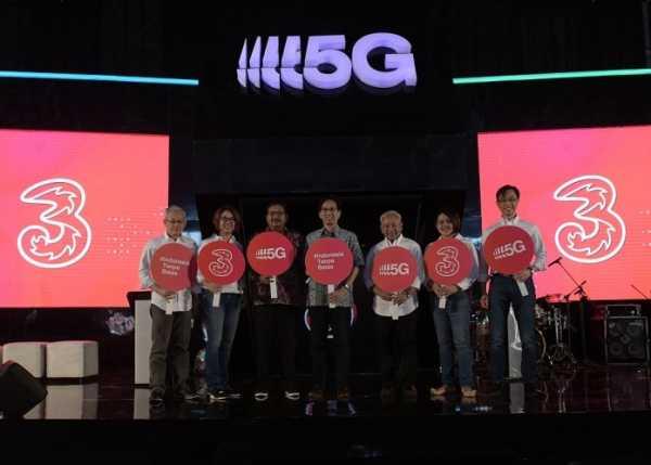 Tri Gelar Uji Coba 5G di Surabaya