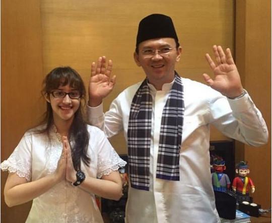 Potret Cantik Tsamara Amany Saat Bertemu Politikus Terkenal