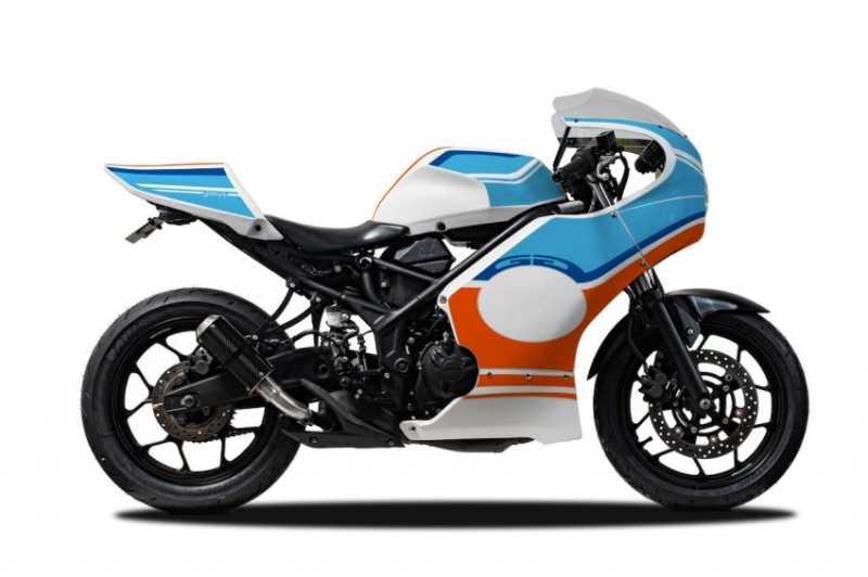 Paket Modifikasi Yamaha R25 Cafe Racer