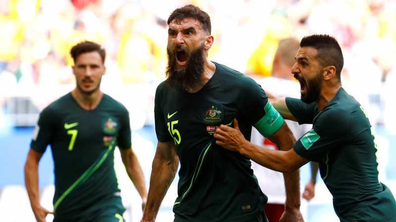 Denmark vs Australia Berakhir Tanpa Pemenang