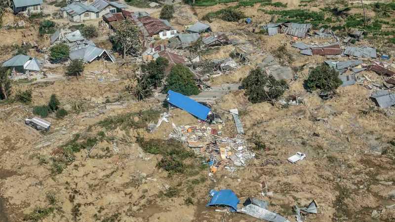 Ratusan Orang Diperkirakan Masih Tertimbun di Perumnas Balaroa, Palu
