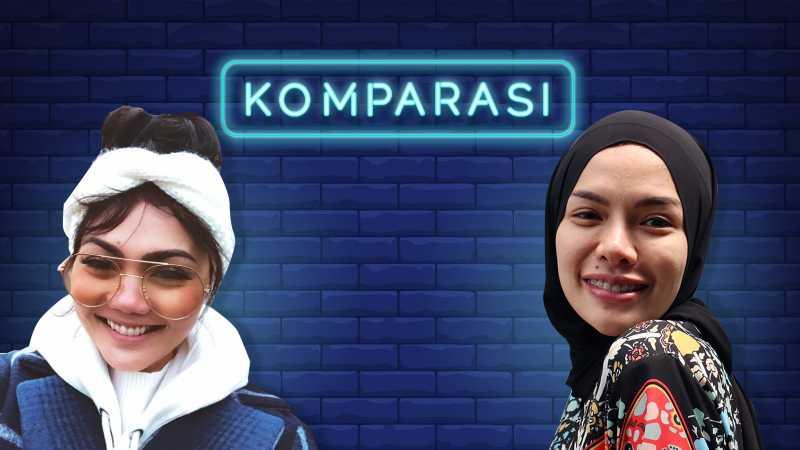 Membandingkan Gaya Nikita Mirzani dan Rina Nose