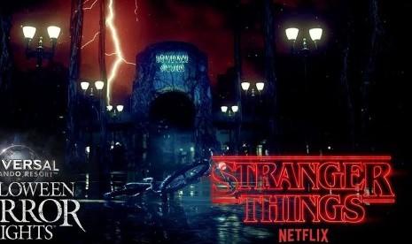 Universal Studio Wujudkan Wahana Stranger Things