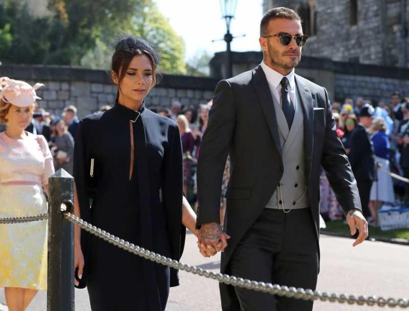 David Beckham Bangga Lihat Pernikahan Pangeran Harry - Meghan Markle