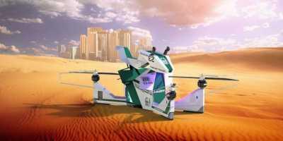 Habis Supercar, Polisi Dubai Boyong Armada Motor Terbang!