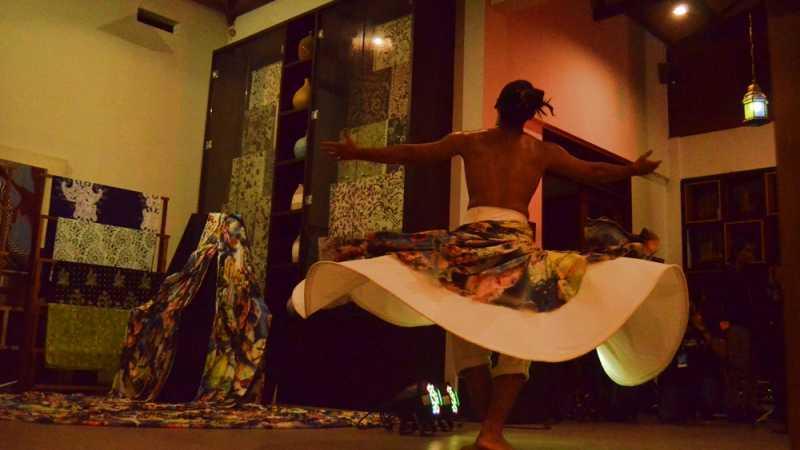 Tarian Sufi dari Tropical Transit Hangatkan Ijen Summer Jazz 2017