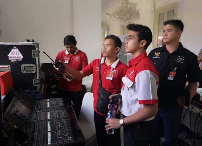 Vadi Akbar Terlibat dalam Perayaan HUT RI Ke-73 di Istana Merdeka
