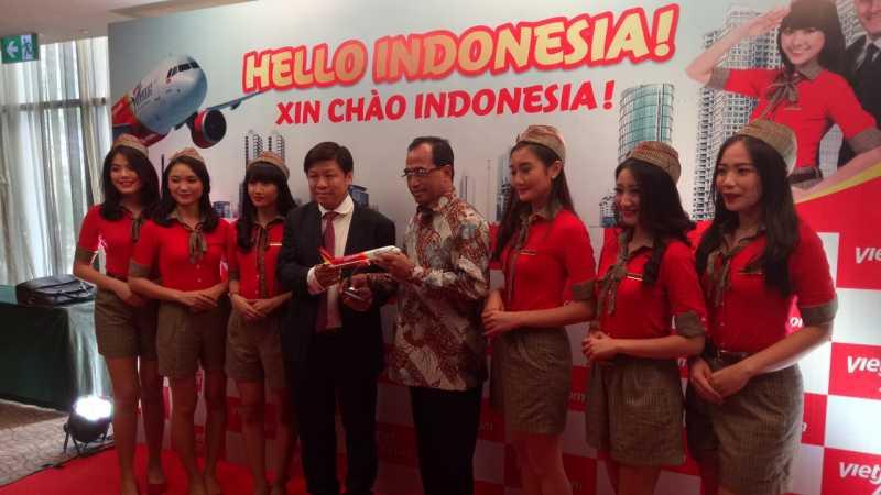Maskapai Vietnam, VietJet Air, Buka Rute Ke Indonesia Mulai Maret 2019