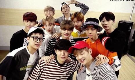 Wanna One Jual 1,01 Juta Album dalam 101 Hari