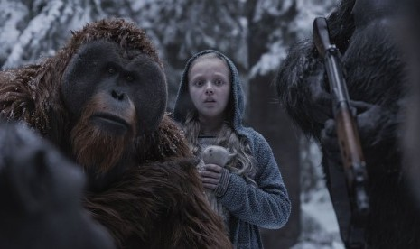 War for the Planet of the Apes Duduki Puncak Box Office