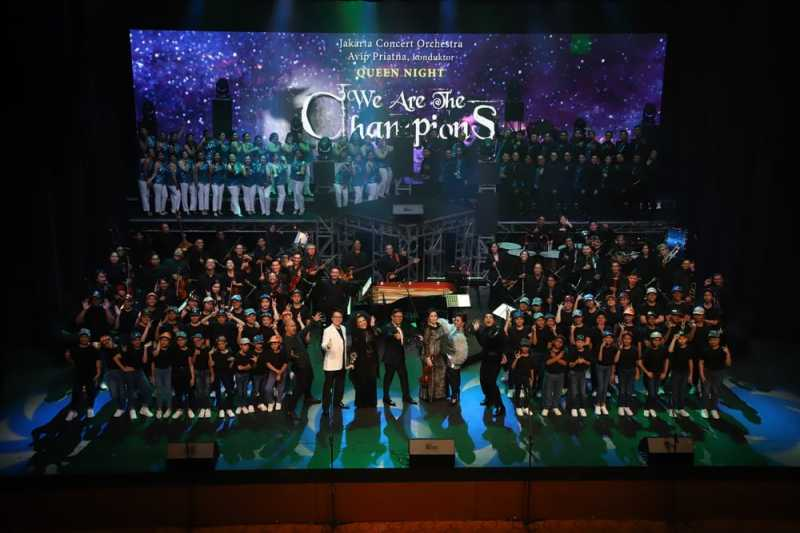 We Are the Champions: Queen dalam Sentuhan Orkestra