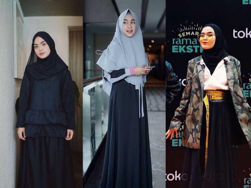5 Potret Artis dengan Hijab pada Bulan Ramadan, Mana yang Tercantik?