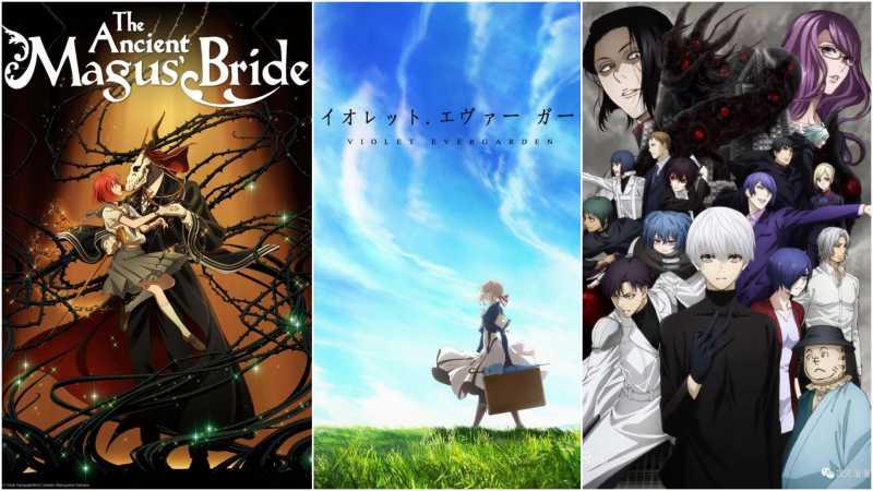 5 Serial Anime Paling Memukau di Tahun 2018