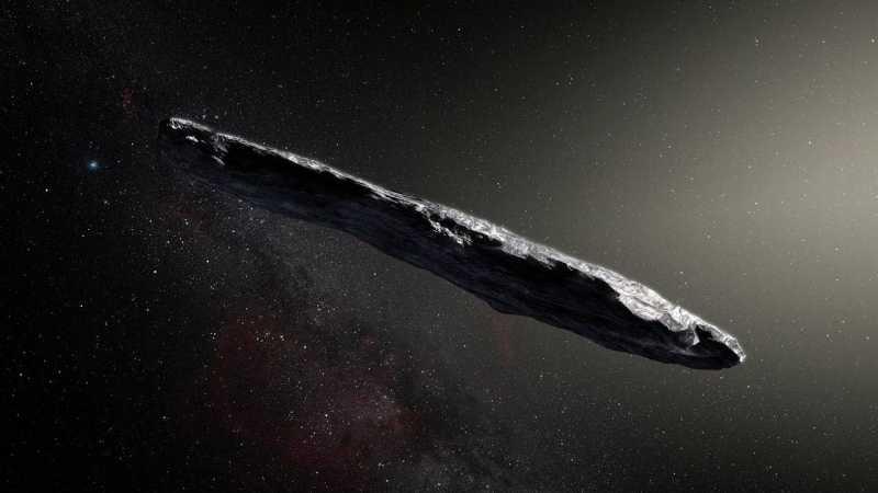 Benarkah 'Oumuamua Adalah Pesawat Alien?
