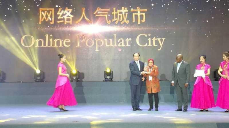 Surabaya Raih Penghargaan Kota Terpopuler di Guangzhou Award 2018