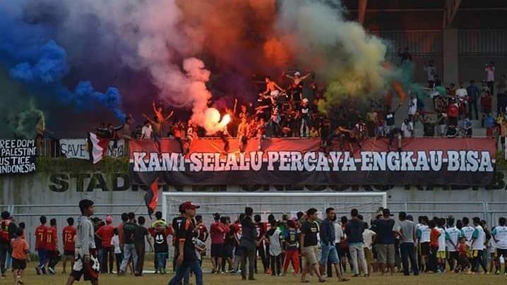 Betapa Brutalnya Sepak Bola Indonesia