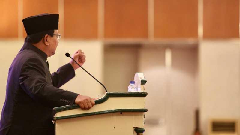 Kelakar Prabowo: Sepak Bola Indonesia Masuk Piala Dunia Tahun 2135