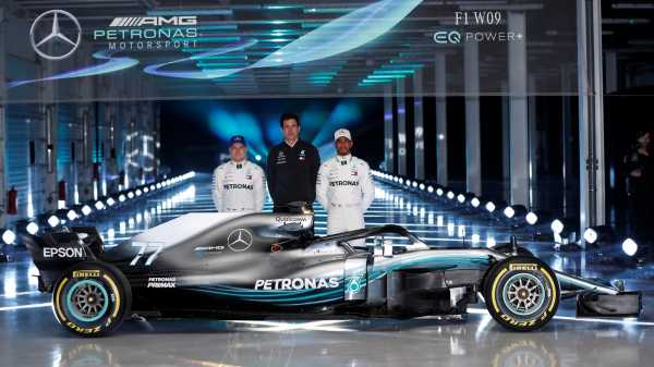 Mercedes Perkenalkan Mobil Anyar untuk F1 2018 di Sirkuit Silverstone