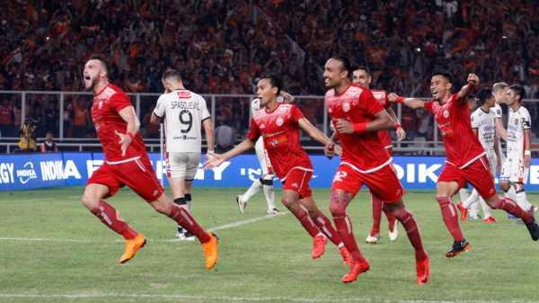 Hantam Bali United 3-0, Persija Juara Piala Presiden 2018