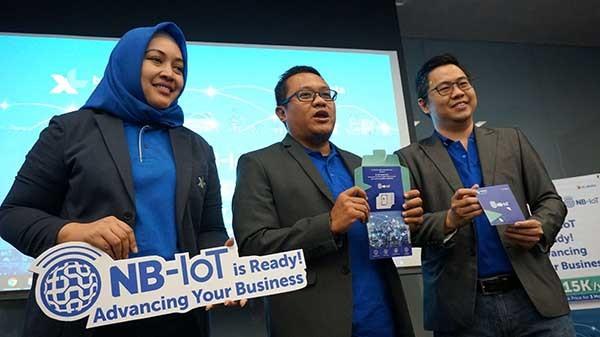 XL Pakai Jaringan NB-IoT di 31 Kota