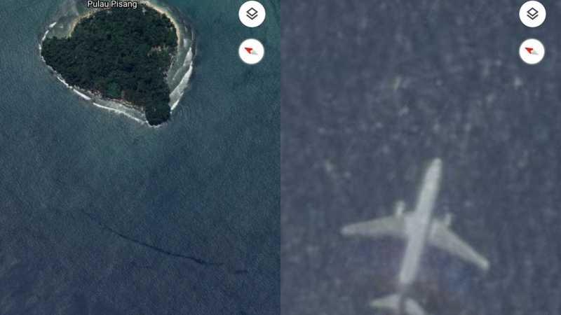Heboh Pesawat Jatuh di Google Maps, Ini Penjelasan Basarnas