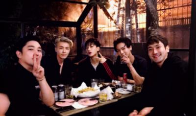 Lima Anggota Super Junior Reuni