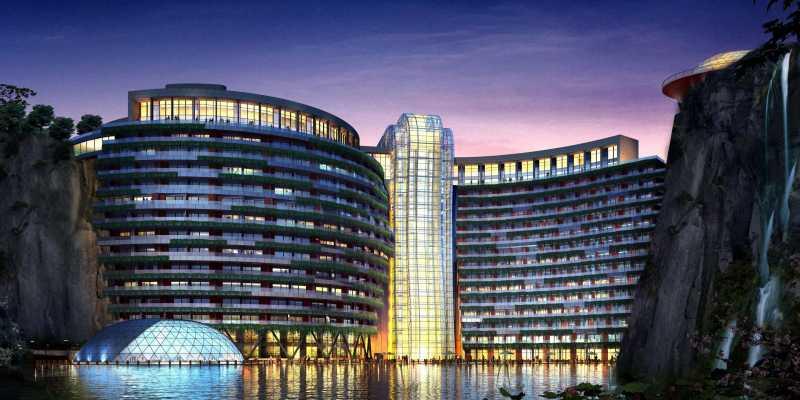 China Resmi Buka Hotel Bawah Tanah Pertama di Dunia