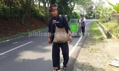 Youtuber Sumedang Berjalan Kaki Demi Temui Jokowi