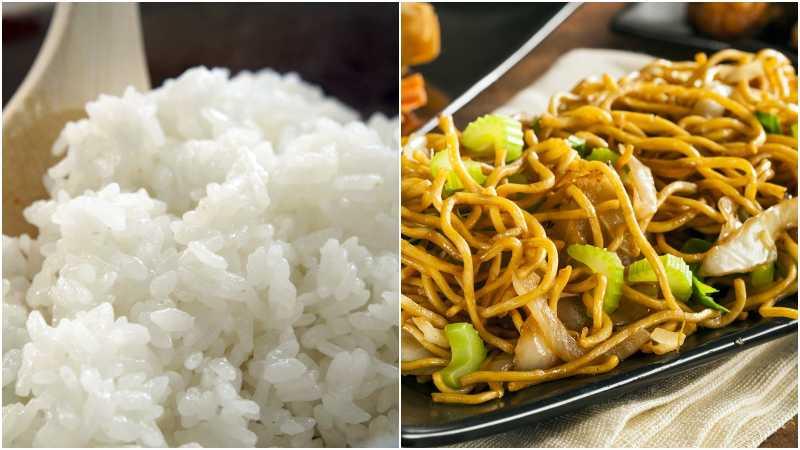 Ini yang Terjadi pada Tubuh saat Makan Mi dan Nasi Bersamaan